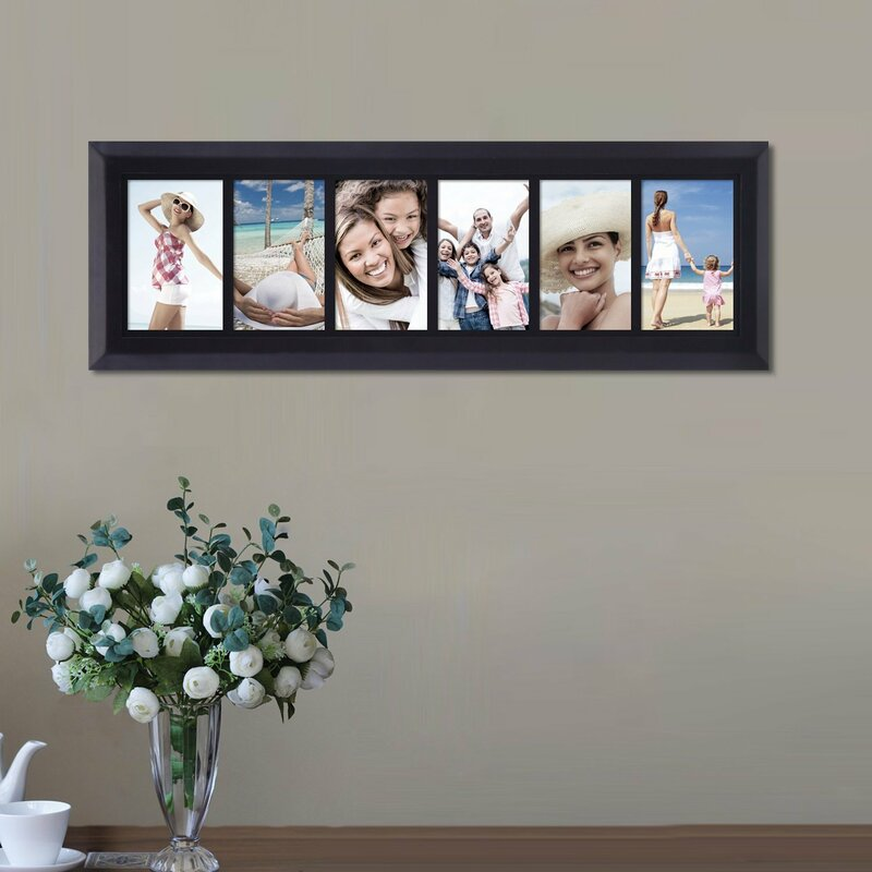 AdecoTrading 6 Opening Decorative Wall Hanging Divided Picture ...