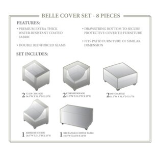 TK Classics Belle Winter 8 Piece Cover Set