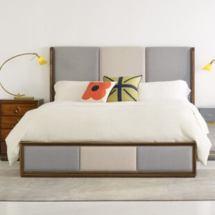 Swell Upholstered Panel Bed by Cynthia Rowley