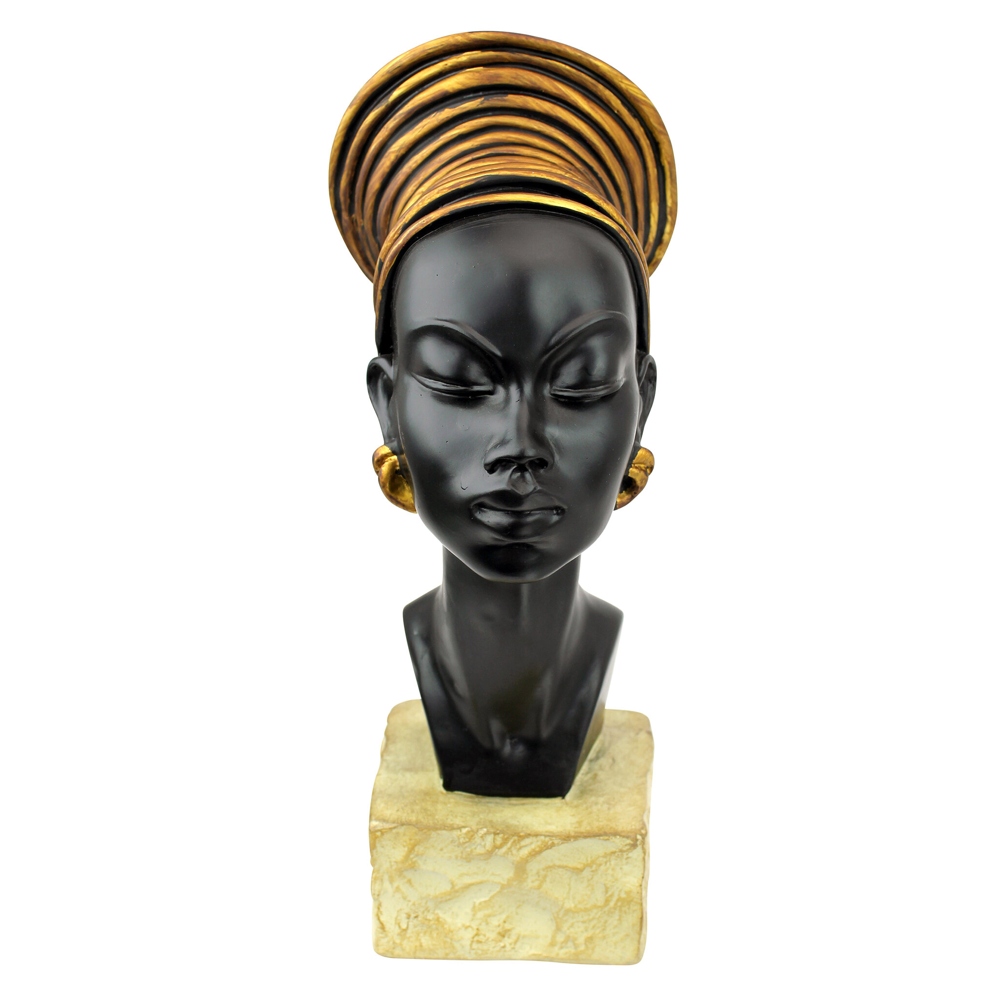Design Toscano Nubian Kandake Sculptural Bust Amp Reviews