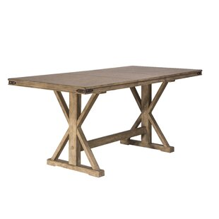 Rowtag Counter Height Extendable Dining Table Loon Peak