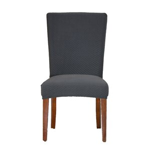Vivian Stretch Polyester Dining Chair SlipcoverKitchen   Dining Chair Covers You ll Love   Wayfair. Gray Armchair Slipcover. Home Design Ideas