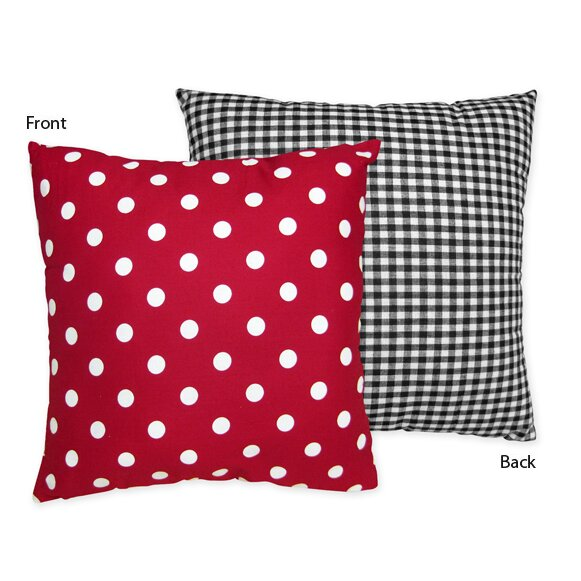 Little Ladybug Cotton Throw Pillow