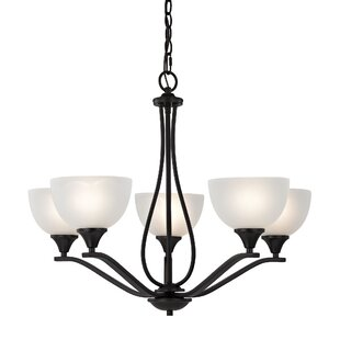 Find Gallimore 5-Light Shaded Chandelier By Darby Home Co