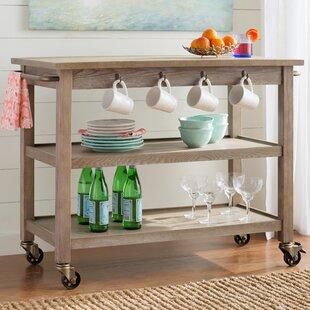 Beachcrest Home Niles Bar Cart