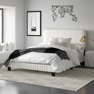 Longwood Upholstered Panel Bed