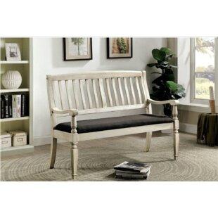 Harriet Wood Bench by Gracie Oaks