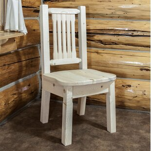 Price comparison Abella Solid Wood Dining Chair by Loon Peak Reviews (2019) & Buyer's Guide