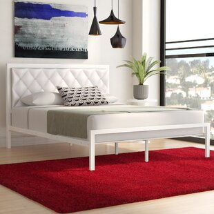 Inexpensive Frint and Walt Upholstered Platform Bed by Three Posts Reviews (2019) & Buyer's Guide