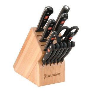 Gourmet Beech 14 Piece Knife Block Set By Wusthof