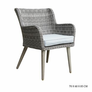 Finadeni Garden Chair With Cushion (Set Of 2) By Ebern Designs