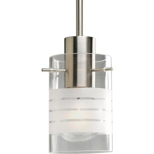 Ebern Designs Auxier 1-Light Cylinder Pendant