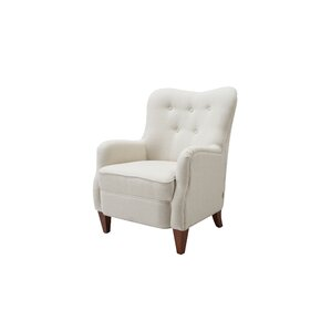 LaKala Upholstered Armchair by Highland Dunes