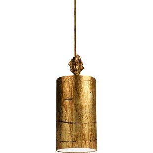 Bloomsbury Market Lucinda 1-Light Cylinder Pendant