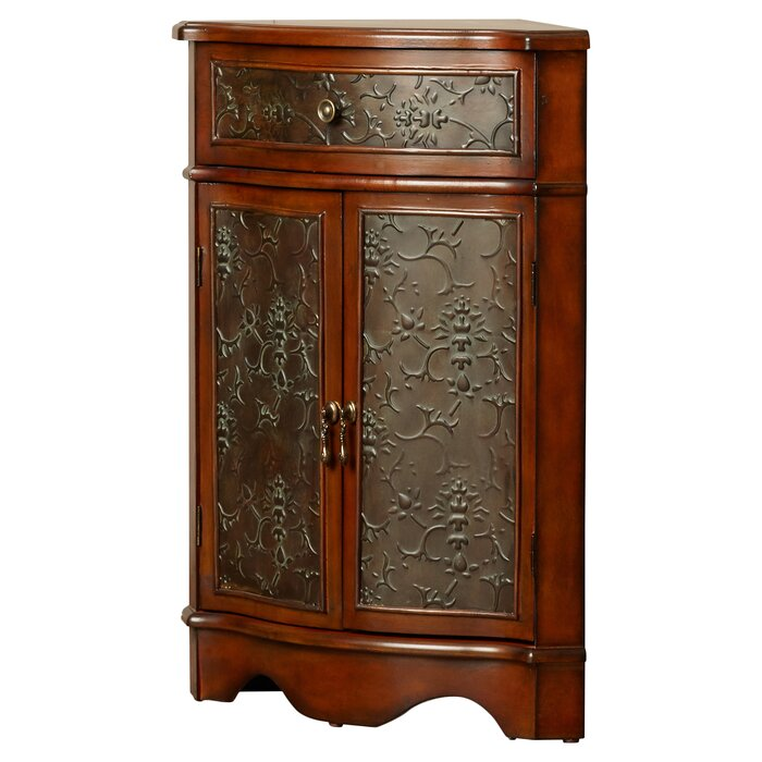 Astoria Grand Farnham Corner 1 Drawer 2 Door Cabinet & Reviews ...