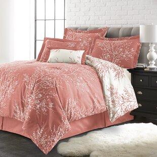 Elliana 6 Piece Reversible Comforter Set by Andover Mills