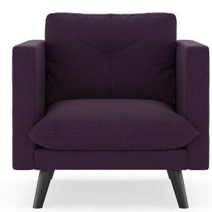 Brayden Studio Rockton Cross Weave Armchair