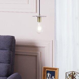 Fick 1-Light Mini Bulb Pendant by Wrought Studio