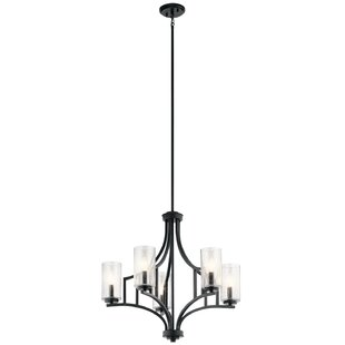 Vannoy 5-Light Shaded Chandelier