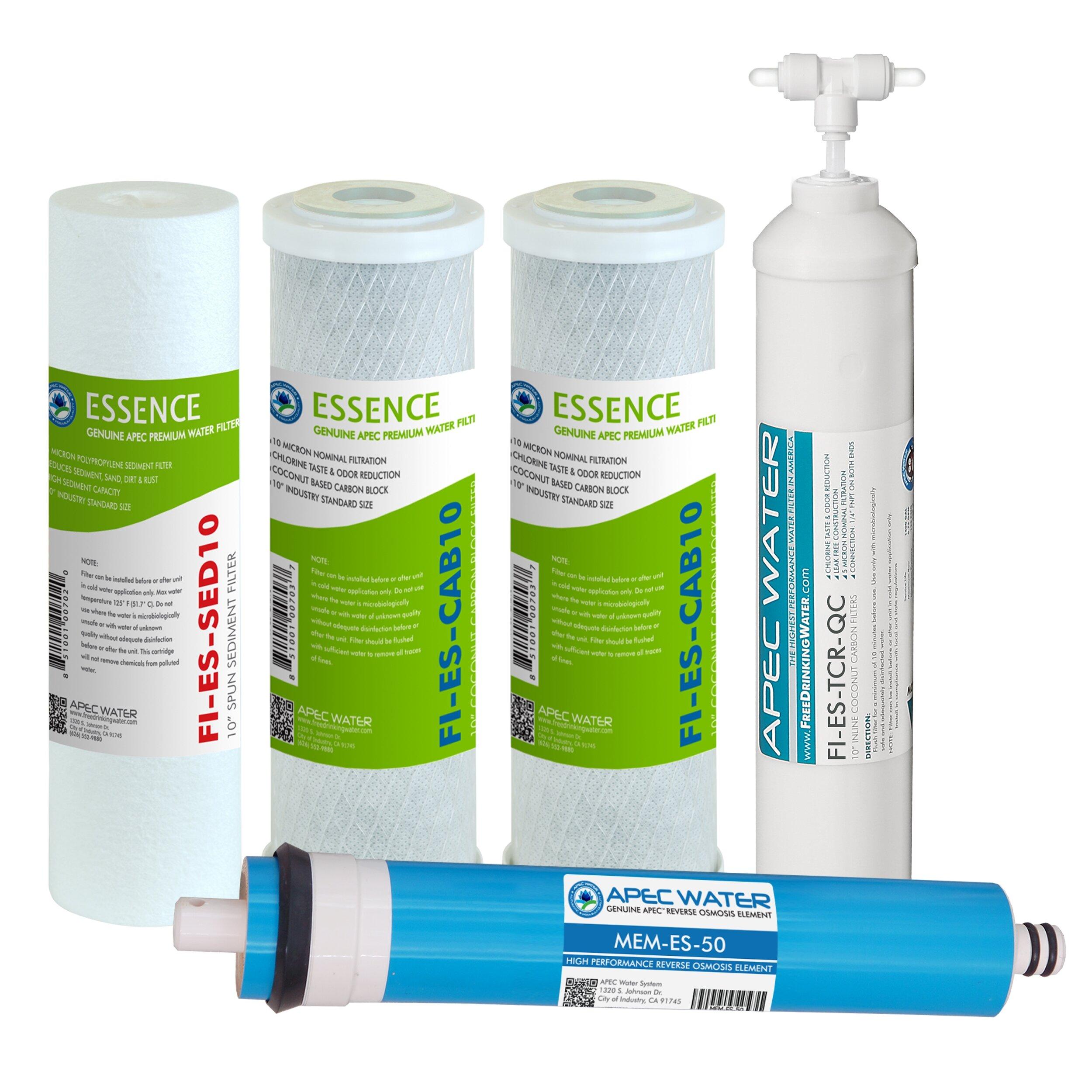 Apec Water Essence 50 Gpd High Capacity Reverse Osmosis Replacement Filter Wayfair