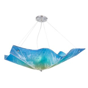 Freels 3-Light Square/Rectangle Pendant by Latitude Run
