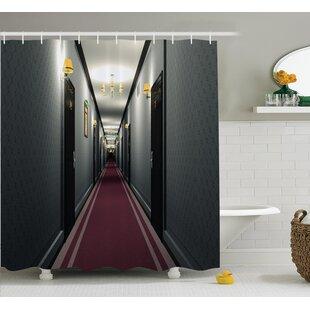 Hotel Corridor Decor Shower Curtain