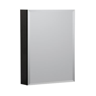 20 X 26 Recessed Or Surface Mount Medicine Cabinet Hazelwood Home Finish Black
