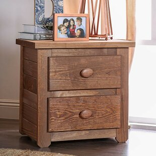 Compare Salamone 2 Drawer Nightstand by Harriet Bee Reviews (2019) & Buyer's Guide