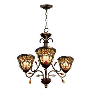 Astoria Grand Saldana 3-Light Shaded Chandelier