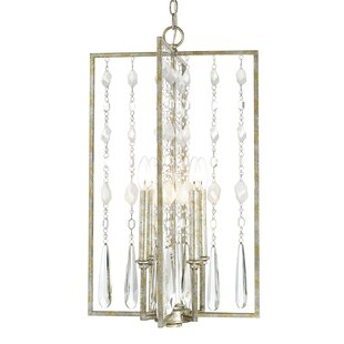 House of Hampton McFarland 4-Light Square/Rectangle Chandelier