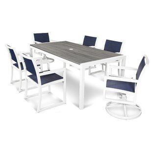 Parsons 7 Piece Dining Set By Trex Outdoor