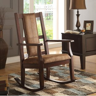 Compare & Buy Rittenberry Rocking Chair by World Menagerie Reviews (2019) & Buyer's Guide