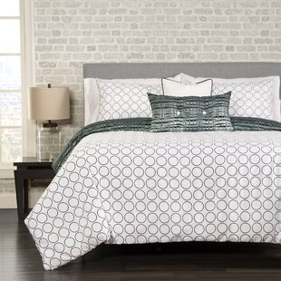 Brayden Studio Marisol 5 Piece Reversible Duvet Cover Set