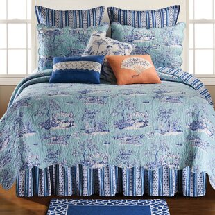 C&F Home Hampstead Toile Quilt