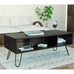 Dejon Coffee Table with Storage by Wrough..