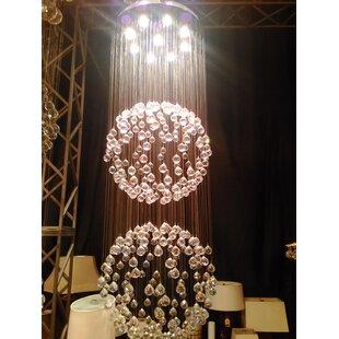 Latrobe Contemporary 9-Light Chandelier by Orren Ellis