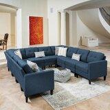 LaGuardia Symmetrical 84.75'' Modular Sectional by Red Barrel Studio®