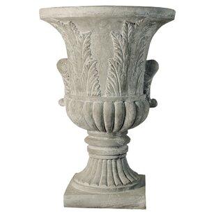 OrlandiStatuary Fiberstone Urn Planter