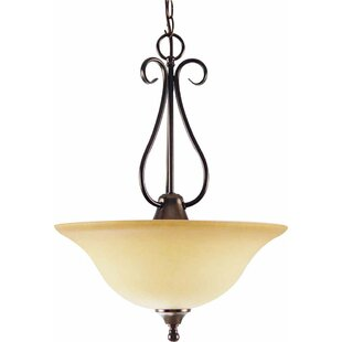 Volume Lighting Minster 3-Light Bowl Pendant