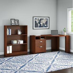 Latitude Run Wheaton 2 Piece L-Shape Desk Office Suite