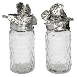 Butterfly 2 Piece Salt and Pepper Set