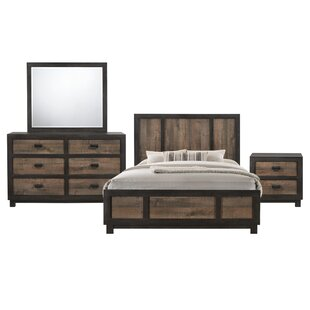 Llewellyn Panel 4 Piece Bedroom Set
