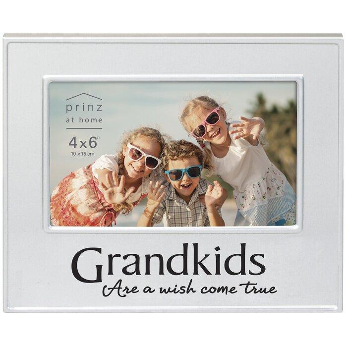 Colorful Grandkids Frame Crest - Custom Picture Frame Ideas ...