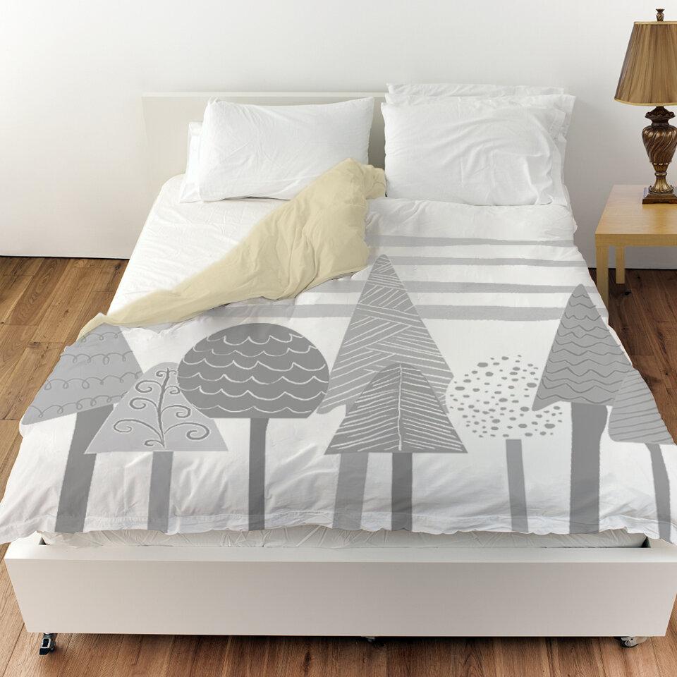 Oliver Gal Scandinavian Tree Tops Duvet Cover Wayfair
