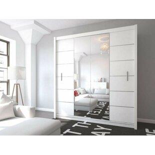 Louane 2 Door Sliding Wardrobe By Brayden Studio