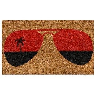 Tropical View Door Mat