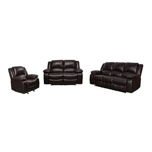 Herdon Reclining 3 Piece Living Room Set by Latitude Run