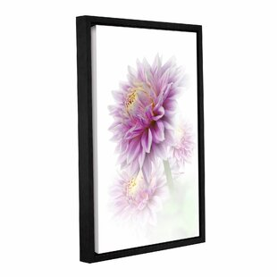 8f5782d4860 Lavender Dahlia Framed Painting Print on Gallery Wrapped Canvas