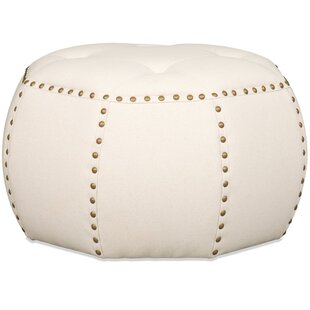 Banner Tufted Pouf Ottoman