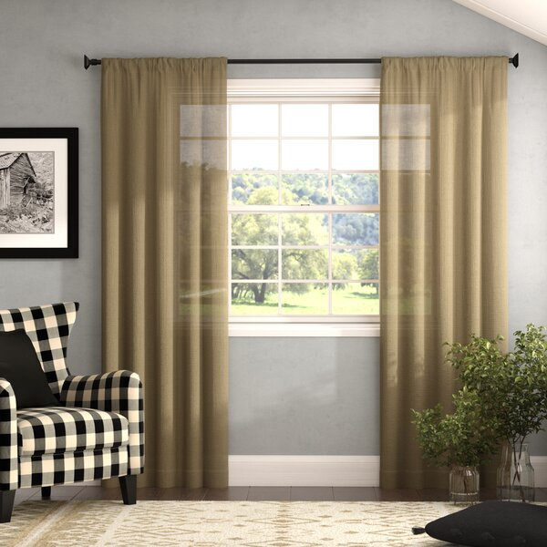 Navy Burlap Curtains Wayfair